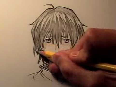 How To Draw Manga Hair, Four Different Ways
