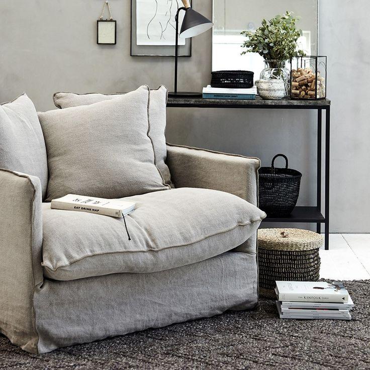 Beautiful Comfortable And Voluminous Dara Chair In A Nordic