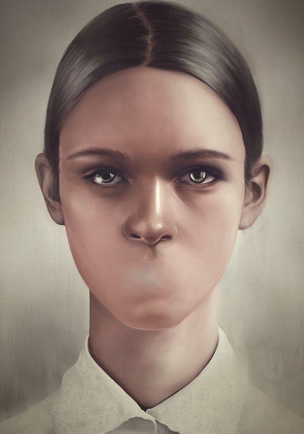 digital illustrations by Tejfel Krisztian   http://ineedaguide.blogspot.com/2015/01/tejfel-krisztian.html #illustrations #art