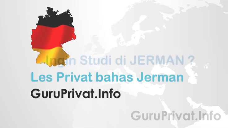 les privat bahasa jerman di jakarta 021 8846595
