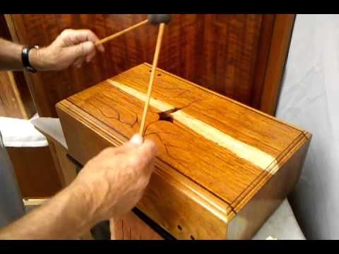 THE SECRET (HOW TO TUNE A WOOD TONGUE DRUM) Part 1 - YouTube