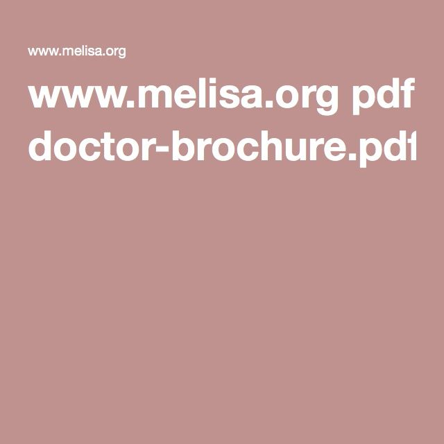 www.melisa.org pdf doctor-brochure.pdf (the allergy blood test measuring hypersensitivity to metals and other allergens)