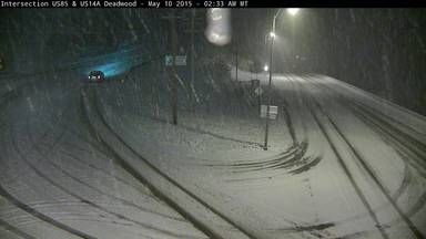 Mother's Day Snow 2015 Deadwood, SD Safe Travel USA