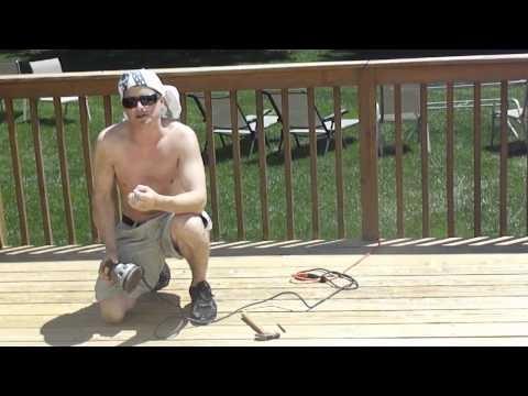 Deck stripper for pressure washer