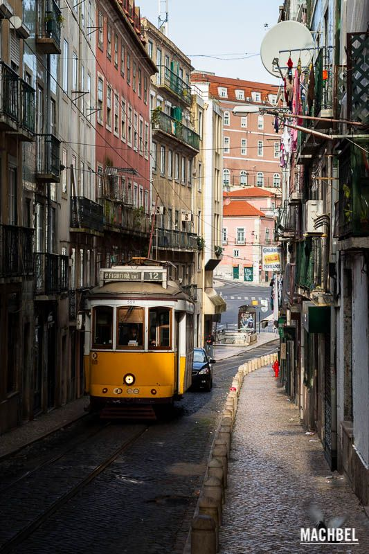 Barrio de la Alfama, el centro histórico de Lisboa, Portugal