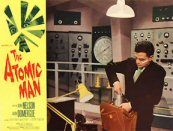 The Atomic Man (1956) $19.99; aka: Timeslip; An atomic scientist is found floating in a river with a bullet in his back and a radioactive halo around his body. The radioactivity has put him seven-and-a-half seconds ahead of us in time. He teams up with a reporter to stop his evil double from destroying his experiments in artificial tungsten. Stars Gene Nelson, Faith Domergue and Peter Arne.