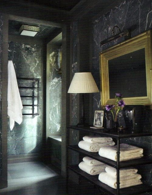 black marble bath decoration pinterest