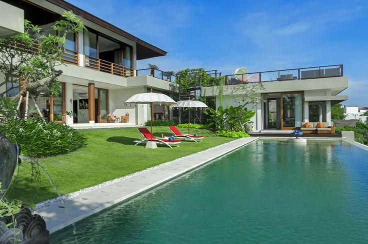Villa Aiko | 4 bedrooms | Jimbaran, Bali #swimmingpool #garden #villa #bali #exterior