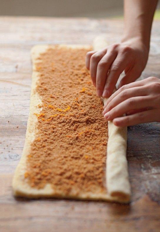 Making Cinnamon Rolls- link to Williams Sonoma Recipe