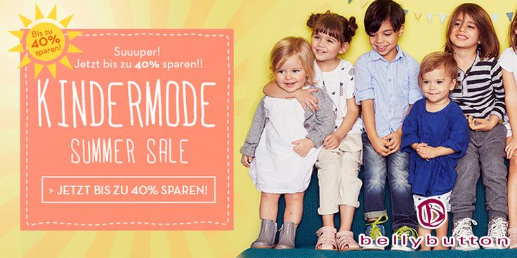 40 % Rabatt auf Sommerkleider #kinder #children #baby #sale #gutscheinlike #gutschein #rabatt #spar #kindermode #mode #bellybutton