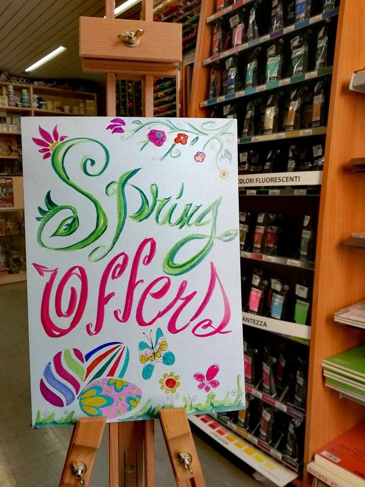Vieni a scoprire tutte le offerte di primavera   #spring #offers #colouracademy #bari
