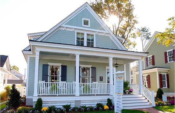 Plan W30016RT: Country, Narrow Lot, Cottage, Photo Gallery House Plans & Home Designs