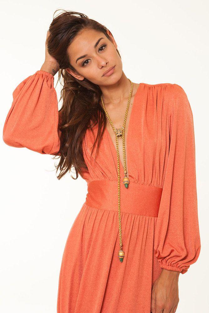 Image of American Hustle Orange Dress