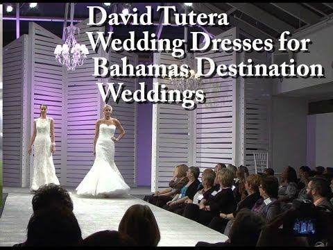 David Tutera Wedding Dresses for Bahamas Destination Weddings - http://www.bahamas-destination-wedding.com  Hi I'm Glenn Ferguson, wedding Planner and wedding officiant at Bahamas Destination Wedding with another spotlight on destination weddings in the Bahamas.  The 16 winning brides of The Islands Of The Bahamas 16 Weddings, 16 Islands, One Priceless Day sweepstakes will all be wearing David Tutera wedding dresses for their Bahamas Destination Weddings.