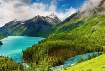 Altai mountains, Siberia, Russia