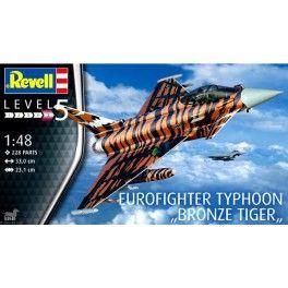 "Maquette 1/48 - Eurofighter Typhoon Bronze ""Tiger"" - REVELL"