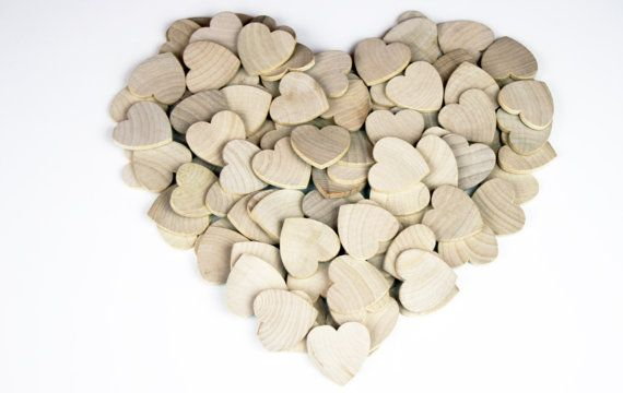 Hey, I found this really awesome Etsy listing at https://www.etsy.com/listing/195761822/50-100-wood-hearts-1-12-x-14-unfinished