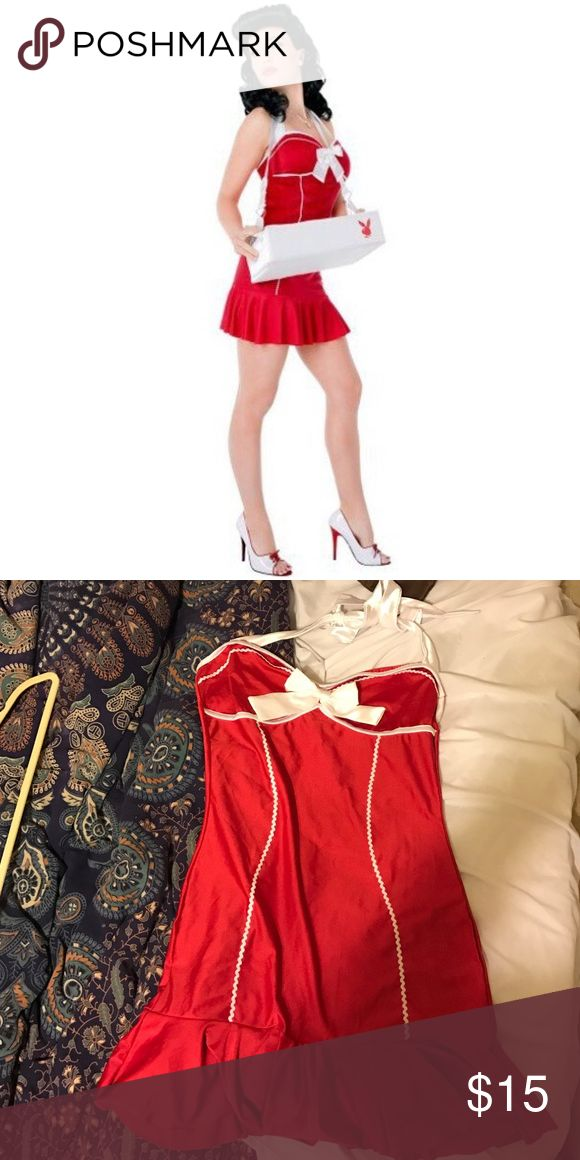 Playboy Cigarette Girl Costume - Dress only Cute playboy girl costume. Only the dress, no tray included. Playboy Dresses Mini