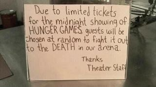 I'd pay to see that...: Hunger Games Jokes, The Hunger Games, Giggl, Funny Random, Movie Theater, Fun Stuff, Book, Funny Stuff, Hunger Games Humor