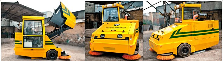 Meet #TPSInfrastructure Limited, one of the leading manufacturer and supplier of #infrastructure equipment with 26 years of market experience. They are well known and trusted suppliers of self propelled #roadsweeping machines which are used in municipal or civic sectors. These sweeping machines has revolutionized the road #construction industry and simplified innumerable tasks.  Their container capacity ranges from 2000Ltrs up to 5500 Ltrs.
