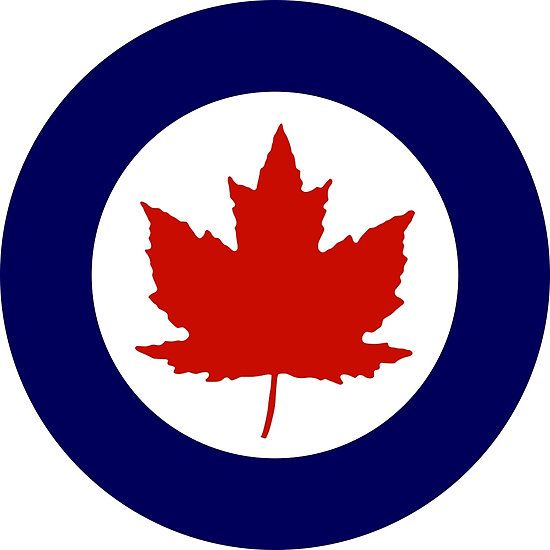Roundel of the Royal Canadian Air Force, 1924-1968
