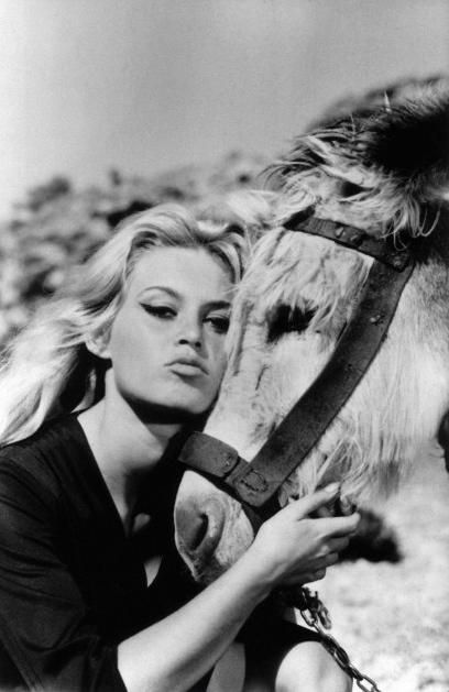 """Every age can be enchanting, as long as you live within it."" Brigitte Bardot"