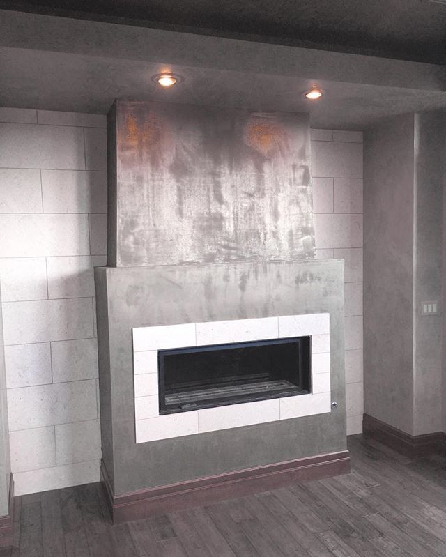 Fireplace Design plaster fireplace : 644 best Fireplace Ideas images on Pinterest