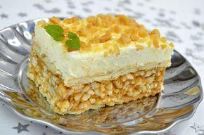 Szybkie, pyszne i bardzo efektowne ciasto bez pieczenia Lion to smakołyk inspirowany popularynym batonikiem, idealny na deser dla wszystkich Smakowite Dania