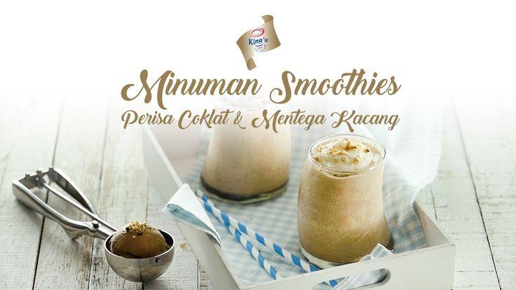 King's Minuman Smoothies Perisa Coklat & Mentega Kacang