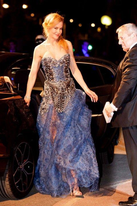 Cannes Film Festival 2014 - Nicole Kidman Arrives In Armani