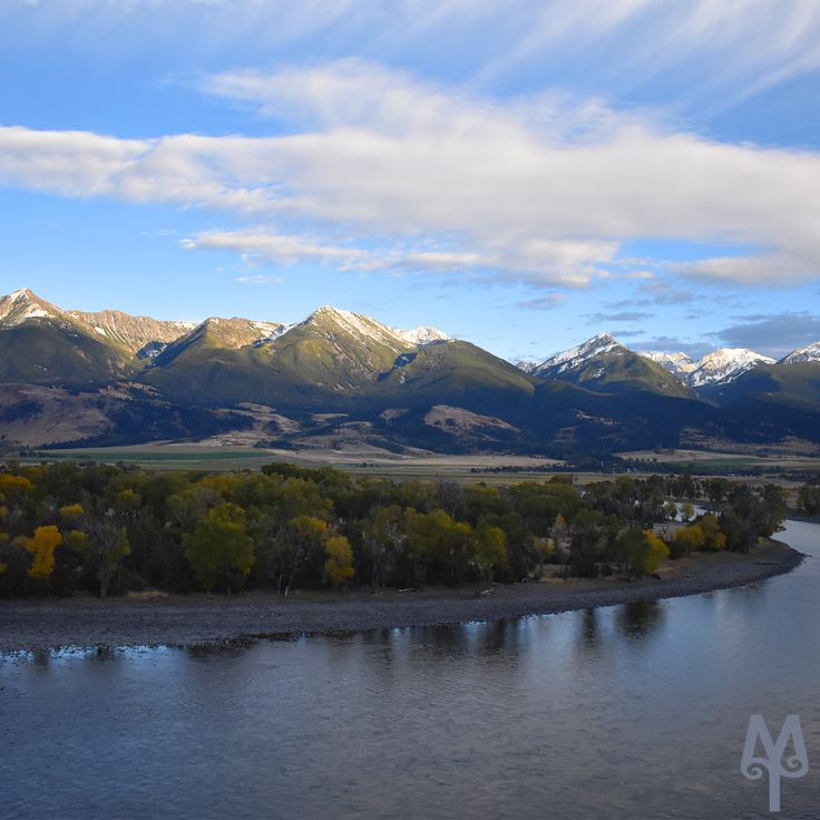 Free Yellowstone River Photo Map...Know where you'll be fishing in Paradise Valley before you even arrive. Get it here! (photo: Yellowstone River, Mallards Rest, Paradise Valley, Montana)