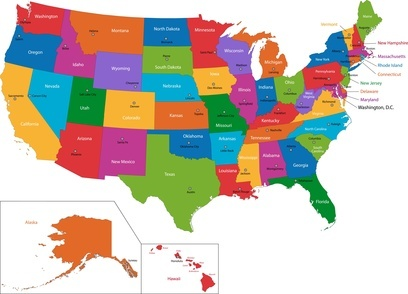 Best Usa Maps Ideas On Pinterest United States Map Map Of - Usa map with cities and states