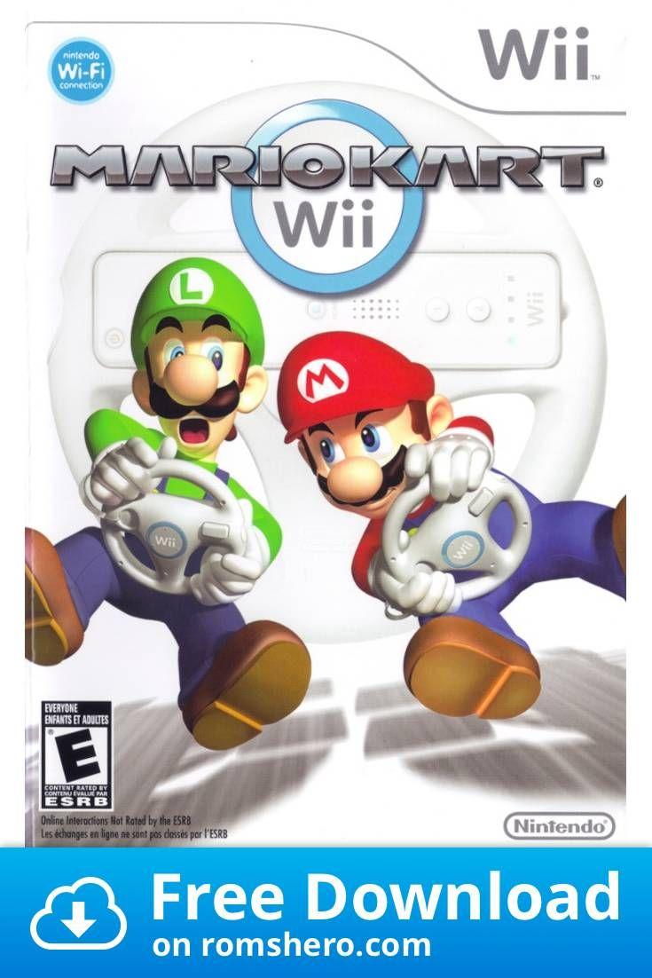 Download Mario Kart Wii Nintendo Wii Wii Isos Rom Mario Kart Wii Mario Wii Mario Kart