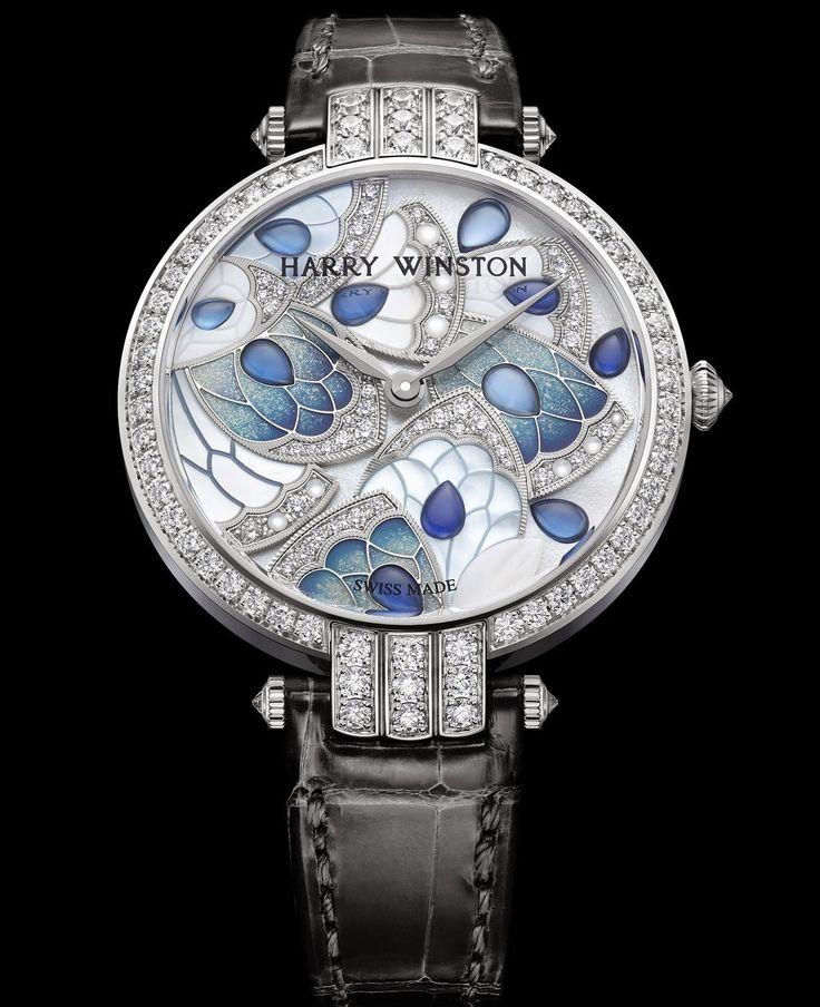 Master Horologer: HARRY WINSTON - Avenue C Precious Marquetry & Premier 36mm Precious Marquetry