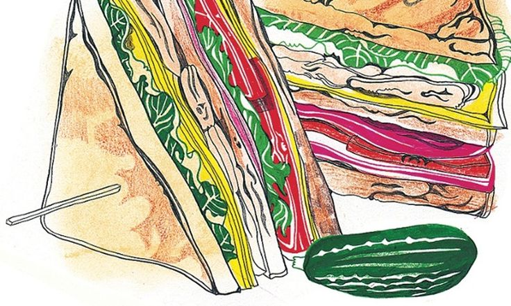 The Lunch Box: Have you considered using up leftover bread in a caesar salad, packing yourself a panzanella or even a proper, homemade club sandwich?