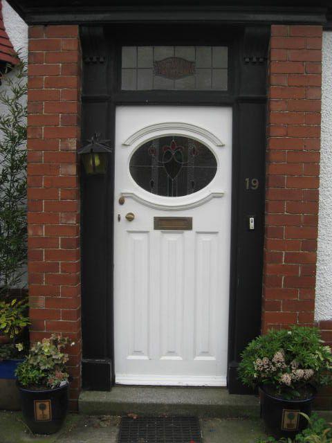 Repro 30s exterior door home deco 1930s pinterest for 1930s external door