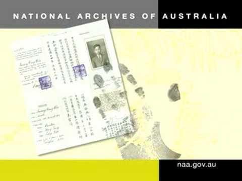 """""""Making Australia home"""" National Archives of Australia video"""