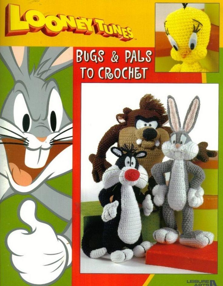 Aunque no está en español, os dejo este libro de amigurumi de los Looney Tunes. Si tenéis cualquier duda, no dudéis en preguntar. Espero qu...