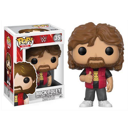 (affiliate link) WWE Mick Foley Old School Pop! Vinyl Figure