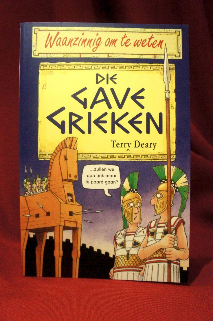 Dit boek staat vol fantastische feiten over de gigantisch geinige Grieken - die meer dan 2000 jaar geleden leefden. Lees over huiveringwekkende helden, stoere Spartaanse soldaten, vreemde filosofen en zielige slaven. ~ Wil je dit boek graag hebben? Ga eens langs bij de Museumshop van het RMO!