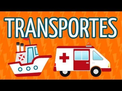 ▶ Canciones infantiles, los medio de transporte. - YouTube