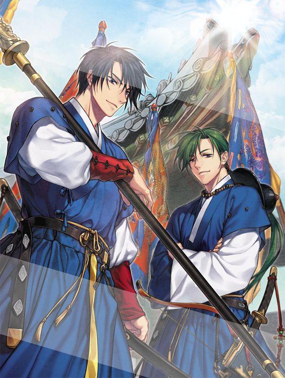 Hak & Jae-ha - the perfect combination of badass and hilarious // Akatsuki no Yona