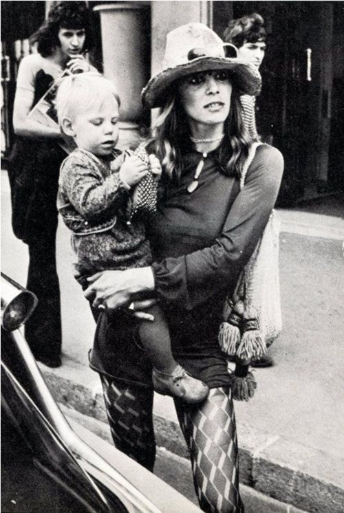 sixties....# Anita Pallenberg # Marion Richards ...
