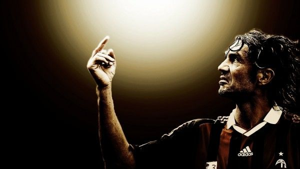Paolo Maldini AC Milan Football - Wicked Wallpaper - FREE HD wallpapers