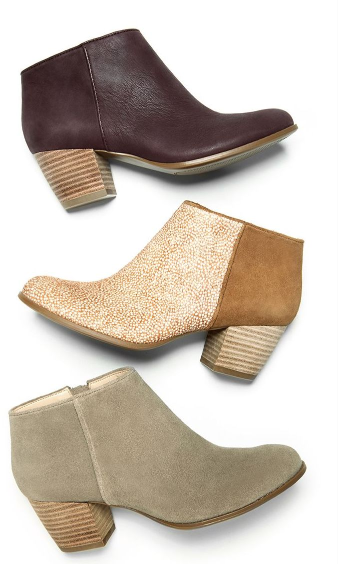 Booties in ALL the best shades