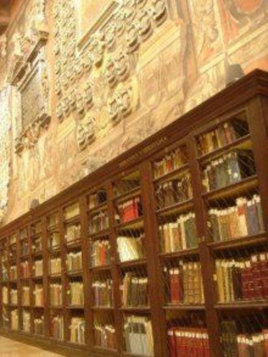 Archiginnasio Library  http://informa.comune.bologna.it/iperbole/cultura/articoli/38937/offset/0/id/8948