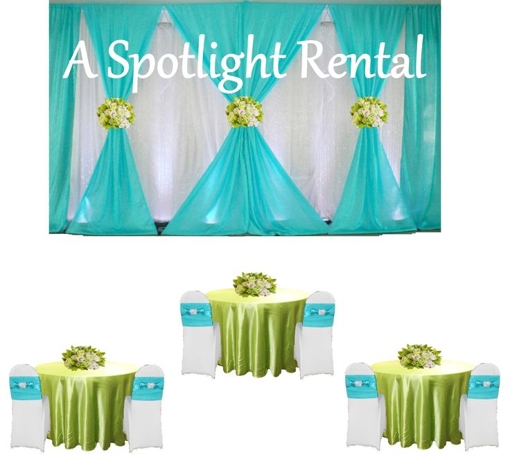 wealthy fancy rhinestone baby shower wedding rental event rental