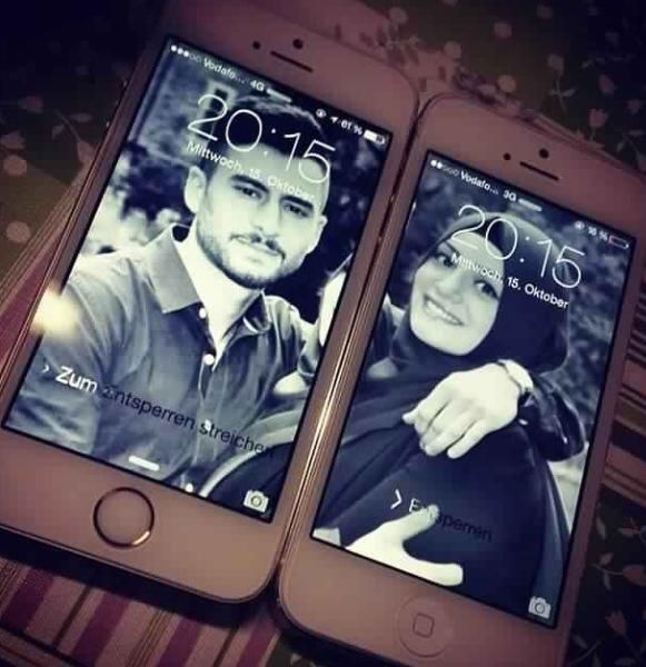 Muslim couples d.p on iphOne