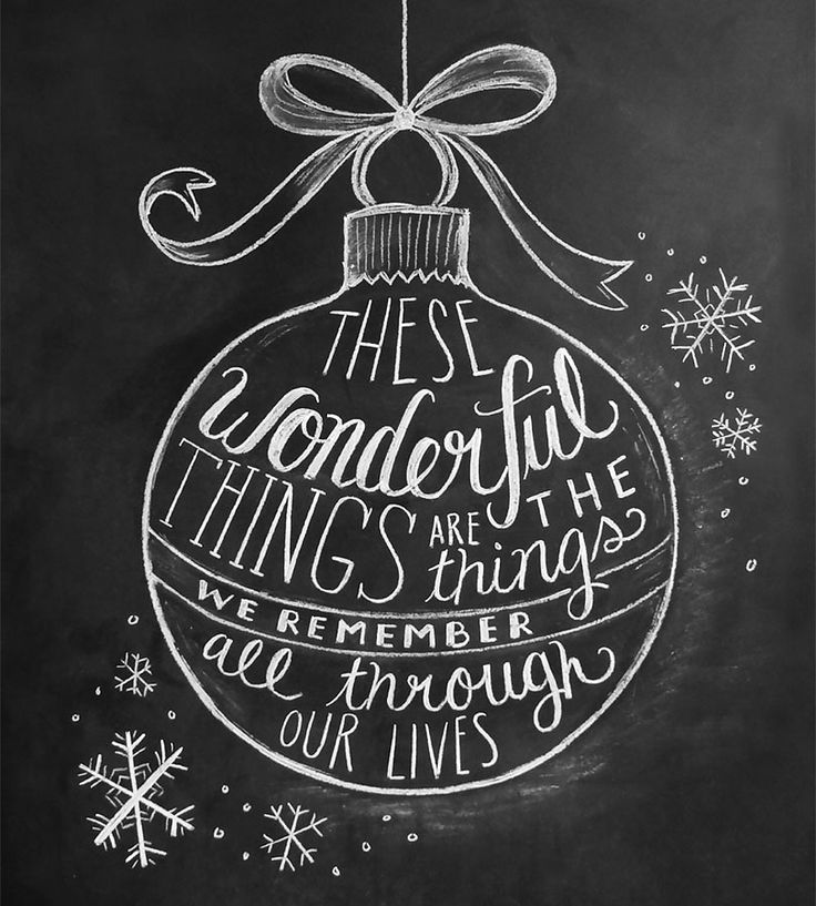 Wonderful Things Holiday Chalkboard Cards – Set of 8 | Gifts Cards & Stationery | Lily & Val | Scoutmob Shoppe | Product Detail
