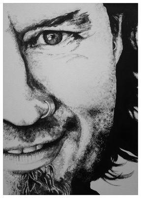 'Pete' in black & white